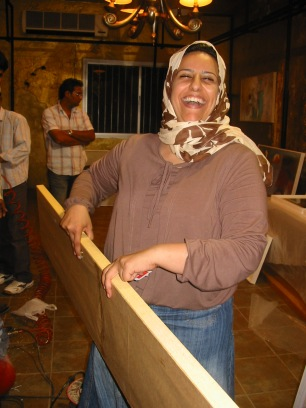Curator Shatha Al Jalahma