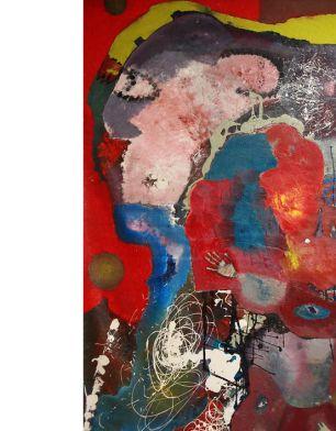 Mural 011-4m long +-/oil based
